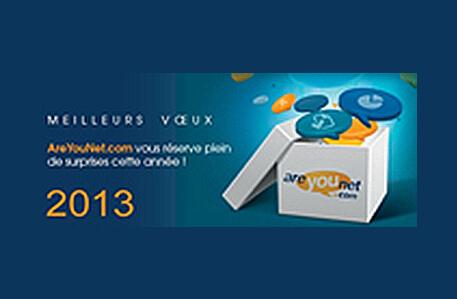 Actualité : Meilleurs voeux 2013