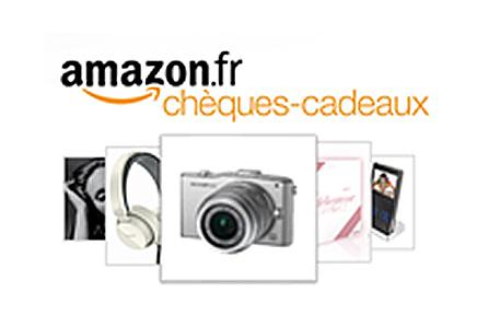 Actualité : L'offre Chèques-cadeaux Amazon.fr