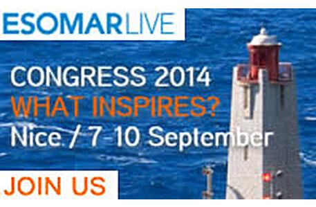 Actualité : Congrès ESOMAR 7-10 septembre