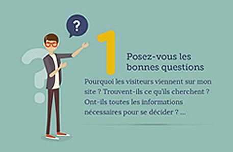 Actualité : [Infographie] 5 conseils pour mieux convertir