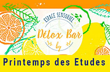 Detox Bar at Printemps des Etudes