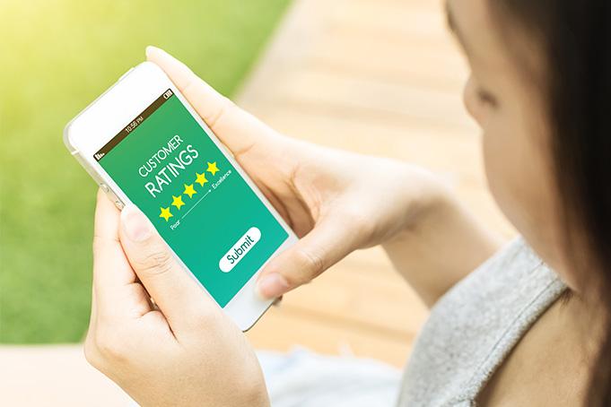Questionnaires sur smartphone