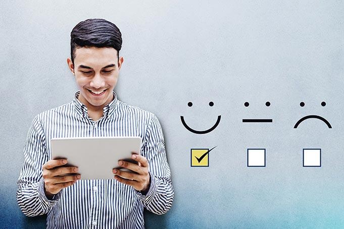 Suivi et visualisation du baromètre de satisfaction en ligne