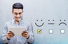 Suivi du baromètre de satisfaction en ligne