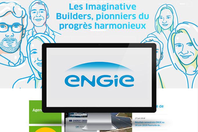 Le Client : ENGIE - anciennement Groupe GDF Suez