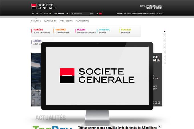 Le Client : Société Générale