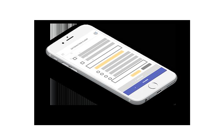 Enquête en ligne satisfaction client