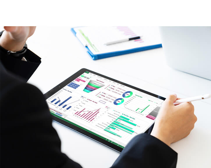 Le module de tableau de bord (web ou Excel)
