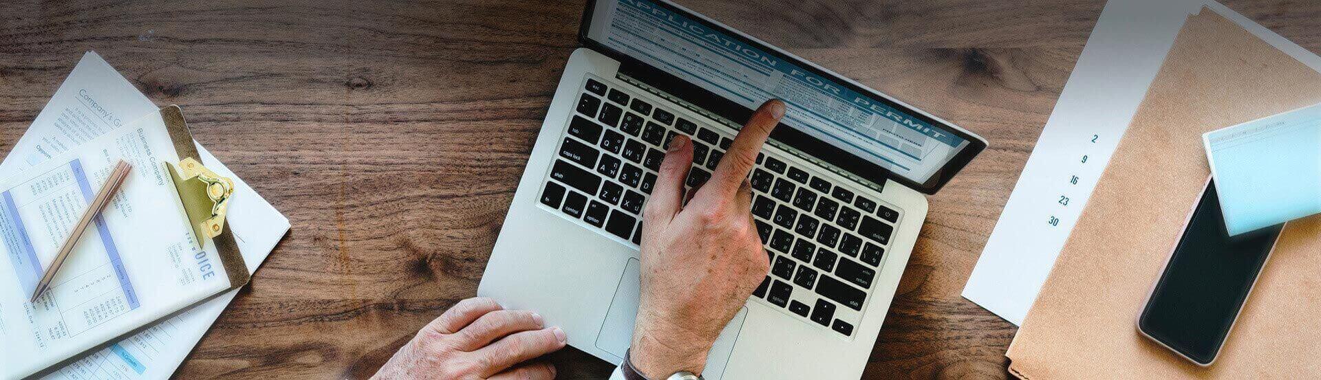 Online marketing survey